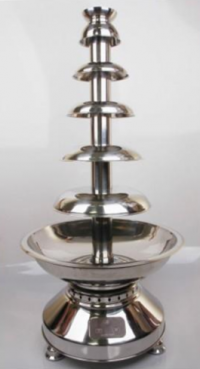 Commercial Chocolate Fountain - Lightweight  39""