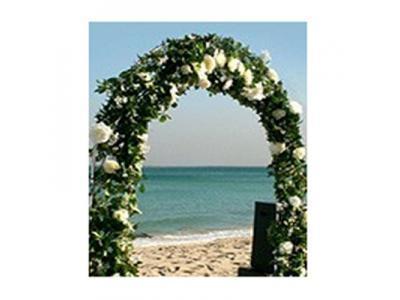 BRIDAL ARCH WITH ARTIFICIAL IVY AND ARTIFICIAL FLOWERS