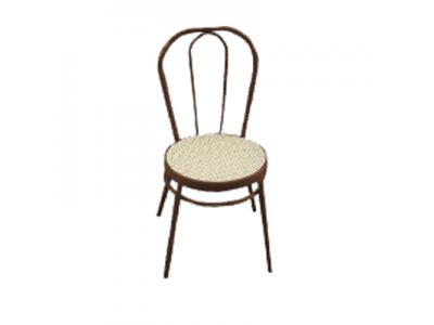 BROWN BENTWOOD CHAIR WITH BEIGE RATTAN SEAT HIRE | COCKTAIL KING