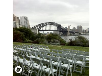 Folding Chair White | Table and Chair Hire - Melbourne, Sydney, Adelaide, Brisbane